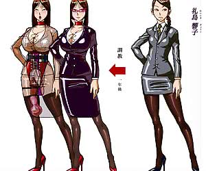 Examine pictures dedicated to latex manga where pretty drawn gals put on latex clothes and pose.