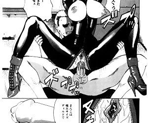Nasty drawn girls pose in their sexiest latex clothes, masturbate and get fucked right in latex hentai.