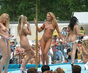Those young women become so sexcited during the great strip show and cannot stop it turning into hot sex!