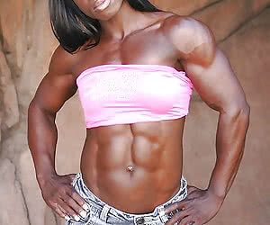 Muscle Black Women