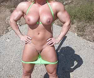 Beautiful muscle women.