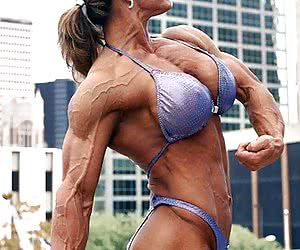 The most beautiful Female Muscle.