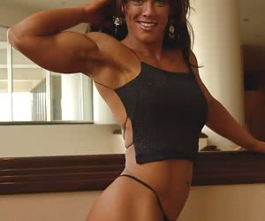 We Love Muscular Women.