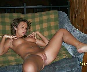 Private pictures of home alone girl next door in the bathroom
