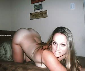 User submitted videos of horny girlfriend naked in the mirror