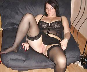 Ladies in stockings posing and in action gall