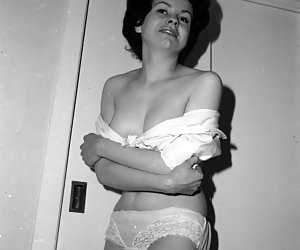 Amazingly hot girls go wild on showing their bodies and love for wearing vintage lingerie