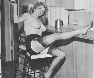 Authentic vintage lingerie erotica featuring experienced seductresses show their bodies delights