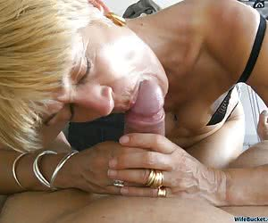 Homemade porn from this hot mature slut