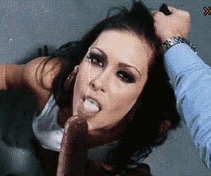 Swallow Cum animated GIF