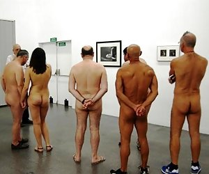 Naked In A Museum