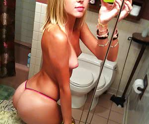 Category: thongs selfies