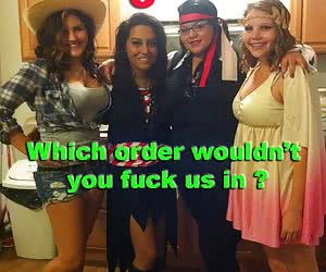 What Order Would You Fuck